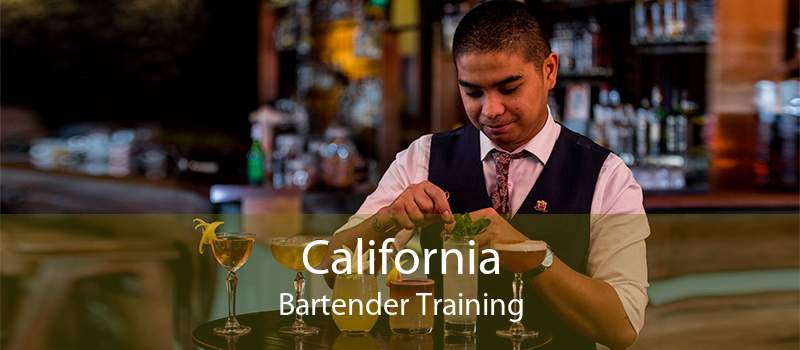 California Bartender Training